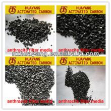 Feuchtigkeit 4% max Worthy Produkt Huayang AFM-015 anthrazit Filtermedien SALE