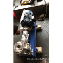 Stainless steel Hot oil Centrifugal pump for high temperature liquid crude oil, petroleum, lubricants,