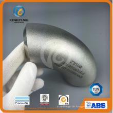 90d Lr Wp304 / 304l Elbow Butt Schweißfitting mit Ce (KT0319)