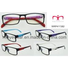 New Fashion Plastic Eyewear Etewearframe Optical Frame (WRP411382)