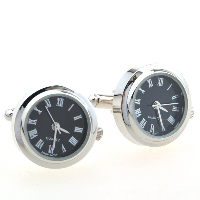 Best Men Designer clock Cufflinks Sale
