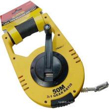 Ручными инструментами длинной рулеткой OEM измеряя лента украшения