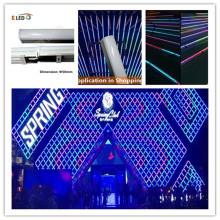 Barra de lavado de pared LED cuadrada para decoración de centros comerciales