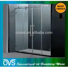 charnières de porte de douche en verre charnière de pivot de porte de douche