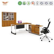Hot Promotion Modern Office Furniture L Shape Executive Desk (H90-0104)