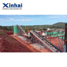 10tph-Fluss-Goldbergbau-Ausrüstungs-EPC-PROJEKT-INHALT von 10tph-Fluss-Goldbergbau-Ausrüstung