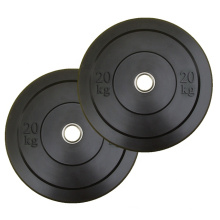 commercial hot plate rubber bumper plate gym weight plate bumper