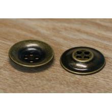 Antique bronze chapeamento botão de metal / metal snap botões para couro