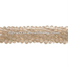 String glass beads,rondelle beads factory,high quality crystal beads