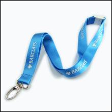 Lanières commerciales en nylon adaptées aux besoins du client par logo en nylon de haute pour la compagnie