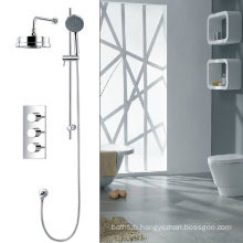 UK popular two water way Thermostatic shower set with hand shower