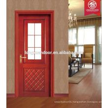 new desgin glass wood door, solid wood door and windows, modern solid wood door