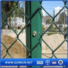 PVC revestido alta qualidade Chain Link Fence