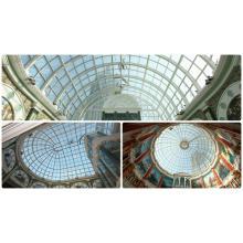 Dome Skylight mit Aluminiumrahmen Rundglas Dachdecker (Andy CW1601)