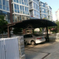 SmokingShelter Sale Car Shed Canopy Carport mit Einzelneingang