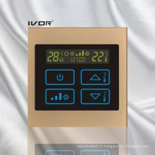Interrupteur tactile de thermostat d'air en cadre acrylique (SK-AC100T)