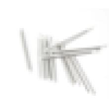 Low price 40mm 45mm 60 mm Strainless steel fiber optic protection sleeves /optical fiber heat shrink tube for free sample