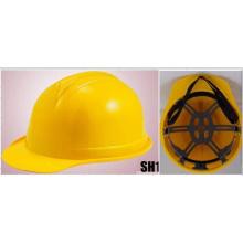 Ярко-желтые рабочей шлем для строительных материалов