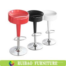 Современные регулируемые регулируемые дешевые пластиковые шарнирные табуреты с подставкой для ног