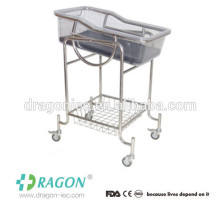 DW-CB03 new born baby bed with full stainless steel cheap in sale