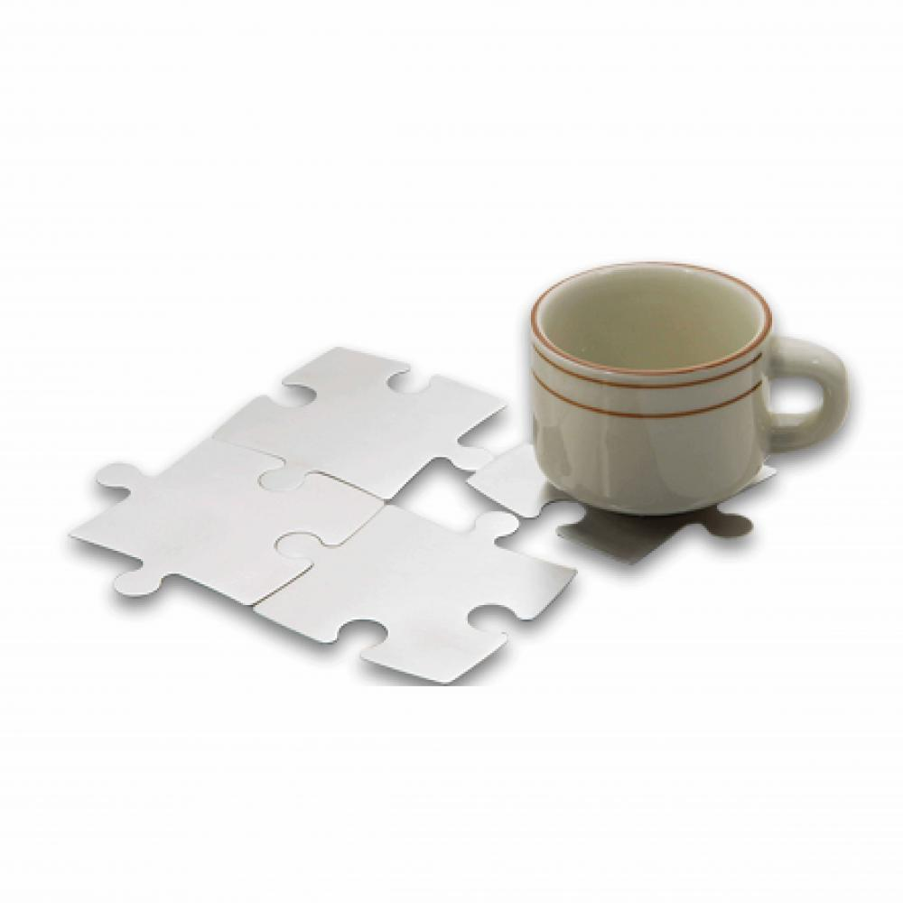 Coaster Set with Holder