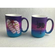 Rainbow Color Mug, 15oz Rain Color Spray Mug, Promotional Mug