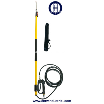 24ft Pressure Washer Telescoping Wand with Belt Strap Support