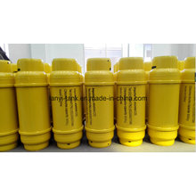 Cilindro de cloro líquido de 400L con brida y válvula