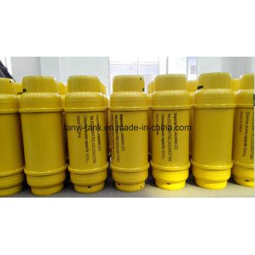 Cilindro de cloro líquido 400L com Flange e válvula