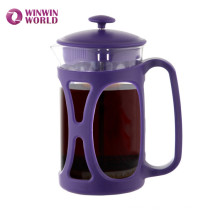 BPA Free Reusable Heat Resistant Plastic Coffee Fress With Stainless Steel Filter