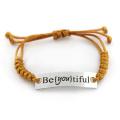 17cm Lovely Stainless Steel Engraved Custom Bracelet for Girls