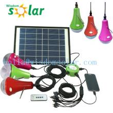 Kits de energía Solar mini portable Sistema/Solar para iluminación solar Inicio