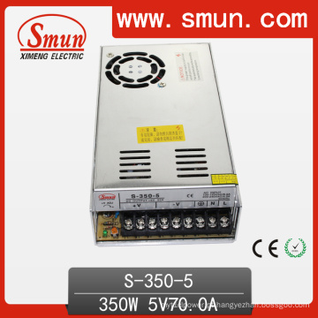 Fonte de alimentação do interruptor de saída S-350-5 5VDC 50A para LED