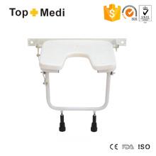 Topmedi U-Form Sitz Badewanne Duschstuhl für Behinderte for
