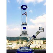 Vogelkäfig und Duschkopf Perc Glas Wasserpfeife mit Stiel