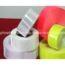 Tira reflectante, cinta reflectante, telas reflectantes. Cinta reflectante de PVC