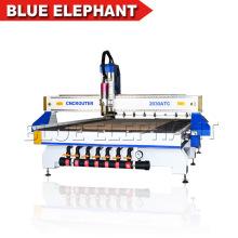 Jinan Blue Elephant 2030 3D Woodworking Engraving CNC Router Machine / CNC Cutting Machine