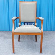 Cadeira de madeira imitada com confortável Armrest grossa (YC-E65-04)