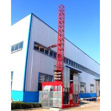 China-Bau-Gebäude-Hersteller-Doppelkäfige, die Hebemaschine errichten