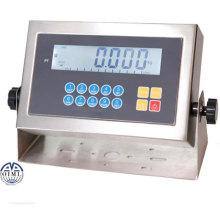 Indicateur de pesée en acier inoxydable avec certificat OIML