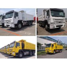 Camión volquete con accionamiento 6X4 y certificación GCC