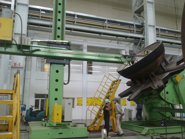 Heavy Type Surfacing Shell Cover Welding Column And Boom