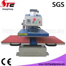 Máquina de transferência de imprensa de calor de posição dupla aprovado pela CE