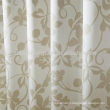 Custom aluminum rail european style shower curtain