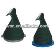 compression Duck-Bill-Rubber check valves