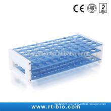 RONGTAI Estante de plástico para tubo de ensayo