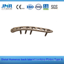 Distal Humerus Lateral Back Locking Plate LCP Plate