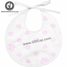 Fashion Lovely Princess Printing Super Soft OEM Baby Bib