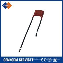 Topmay condensador electrolítico de aluminio axial de 6.3 a 100V