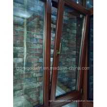 Top Quality Solid Wood Double Tempered Glass Window